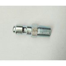 "Pressure Washer 1/4"" Male NPT-M Zinc Plated Quick Connect Plug 4000 PSI"